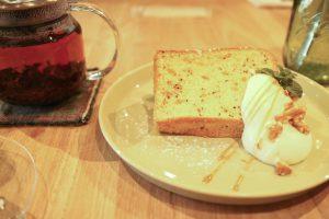 三島紅茶と紅茶のシフォン